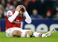 arsenal out